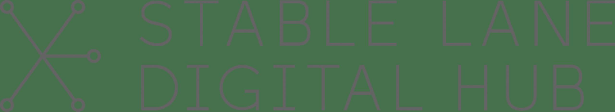 Stable Lane Digital Hub Logo